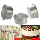 "2"" Aluminum Removable Bottom Round Cake Baking Mould Pan Tin Mold Tray"