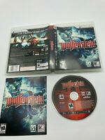 Sony PlayStation 3 PS3 CIB Complete Tested Wolfenstein 2009 Ships Fast