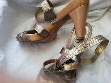 🎀 superbes sandales /Escarpins en cuir vache tte👠 taille 40 Unisa 🎀