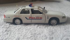 Road Champs Temple Police Diecast Police Vehicle 1:43 Scale