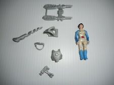 Tyco Dino Riders Series 2 Brontosaurus part, Serena with Series 2 weapon accesso