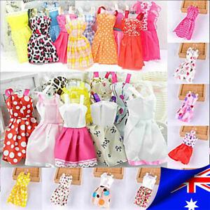 70pcs Items For Barbie Doll Jewellery Accessories Dresses Shoes Clothes Sets AU