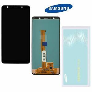 Original Samsung Galaxy A7 2018 A750F Display LCD Bildschirm   ⫸ Service Ware