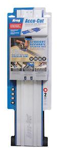 "Kreg Tool Accu-Cut Circular Saw Guide for Wood 26-1/2"" KMA2700"