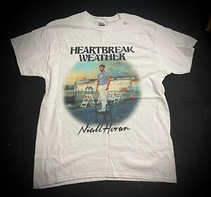 "Niall Horan ""Heartbreak Weather"" Album Men's T-shirt Sz Large"