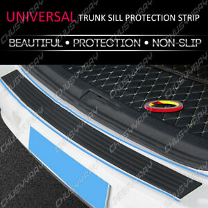 4D Parts Accessories Rubber Sheet Car Rear Guard Bumper Sticker Panel Protector