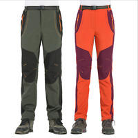 Womens Winter Snow Ski Hiking Pants Outdoor Waterproof Windproof Fleece Insulate