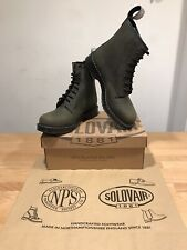 NPS SOLOVAIR Green Nubuck/Grease 8 Eye Derby Boot! SizeUK9! New!Only £159.90!
