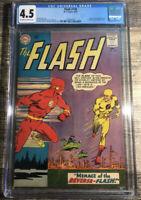The Flash #139 CGC 4.5 Silver Age KEY 1st Professor Zoom Reverse-Flash Original