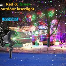 Xmas Outdoor Laser Projector RG 20 Full Gobo Event Landscape Yard Light Show DJ