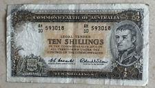 Australia 10 Shillings Banknote (1954-60)