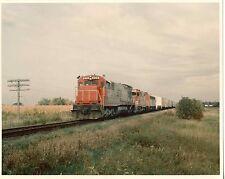 EE751 RP 1960s? SOO LINE RAILROAD TRAIN ENGINE #800 2411 ' CP RAIL PHOTO '