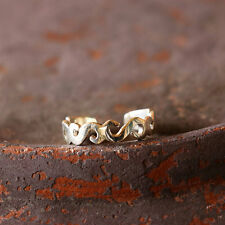 New Adjustable Jewelry Shipping Included Swirl Toe Ring Sterling Silver