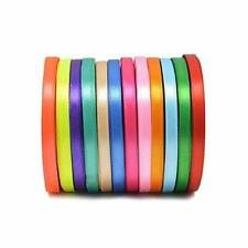golight 300 Yards Double Sided Fabric Ribbon Silk Satin Roll 12 Colors for