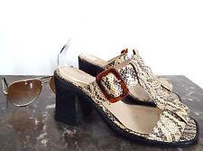 Mules Vintage Mod Gogo 36/37 - Mules Shoes VTG 5/6 60's