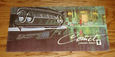 Original 1964 Mercury Comet Sales Brochure 64 Cyclone Caliente