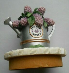 Yankee Candle LILACS Watering Can Ceramic Candle Top Topper