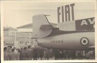 FOTO EXPO AEROPLANI FIAT G.80 AVIAZIONE MILITARE ITALIANA AERONAUTICA 1960ca