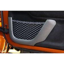 Front Charcoal Door Trim Net Charcoal For Jeep 11-17 Wrangler Jk 2 X11157.21