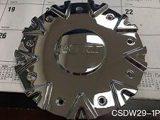 New DCENTI DW29 Wheel Center Cap Chrome(CSDW29-1P)Same size as BORGHINI B9 Wheel