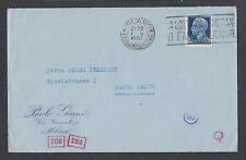 ITALY 1942 WWII TWO CENSORED COVERS MILAN SLOGAN CANCELS TO BADEN-BADEN GERMANY