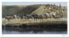 Ken DANBY Calgary Stampede LTD art print Trail 2000 rare sold out print!