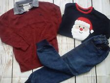 NEW USED NICE 24x BUNDLE BOY CLOTHES 6/7 YRS T-SHIRTS TROUSERS JUMPERS (3.4)