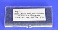Chroma Uv Dapi Lp Fluorescence Filters For Olympus Zeiss Nikon Microscope Cube