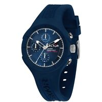 OROLOGIO SECTOR SPEED R3251514003 watch UOMO gomma blu MULTIFUNZIONE