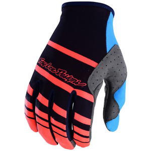 Troy Lee Designs SE Gloves 2018 Streamline Navy/Orange MTB Mountain Bike MX SALE