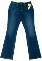 Womens Merona Classic Bootcut Higher Mid Rise Jeans Denim  Whiskered Blue