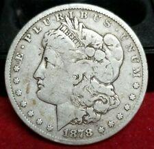 1878-Cc $1 Morgan Silver Dollar
