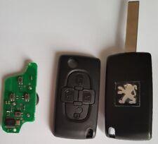 Clé Plip Télécommande Complète Peugeot  807 * 4 boutons Fréquence: 433mhz