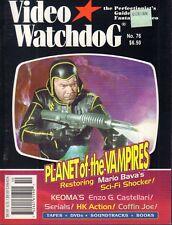 Video Watchdog October 2001 Planet of The Vampires Enzo G Castellari 021318DBE