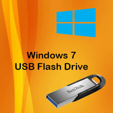 Windows 7 USB Install Drive and Instructions Install Repair Upgrade, Windows