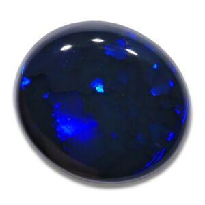 1.04 ct Schwarzer Opal aus Lightning Ridge - Australien mit Farbe Blau Edelopal
