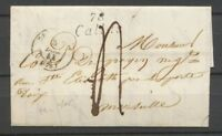 1844 Lettre Cursive 78 Callas CAD T15 DRAGUIGNAN VAR(78) Indice 15 X2361