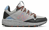 New Balance Women's Fresh Foam Crag Trail Shoes Grey with Orange