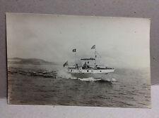 Fishing Boat Fisherman A4678 New England Coast Vintage Postcard RPPC circa-1950s