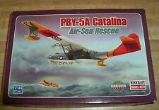 (K) Minicraft  PBY-5A Catalina Air-Sea Rescue Model Kit 1:144 #14435-  NEW