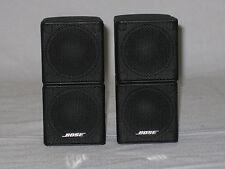 2x  Bose Premium Lifestyle Jewel Cube Speakers (Black) Excellent