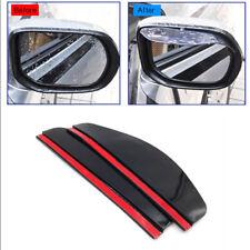 Car Accessories Rear View Side Mirror Visor Sun Rain Guard Protector Brown Front