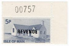 (I.B) Elizabeth II Revenue : Isle of Man 5p (Grammar School)
