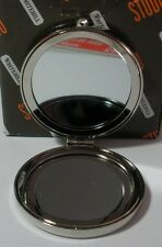 "WHITEHILL STUDIO  ""SILVER GLITTER STAR MIRROR COMPACT CASE"" WP2038 MINT IN BOX"