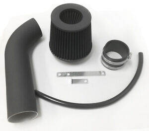 Coated Black For LONG 1997-2004 Jeep Cherokee Grand 4.0L I6 Air Intake + Filter