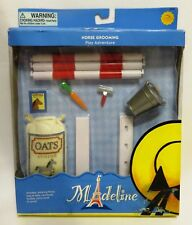 "Retired 2002 Learning Curve HORSE GROOMING SET 84306 NIB for 8"" Madeline Doll"
