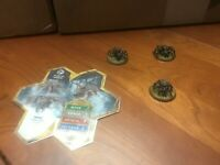 Fyorlag Spiders - Heroscape - Ticalla Jungle Figures + Homemade Card