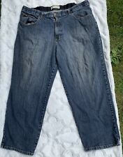 Mens Lee Custom Waist Loose Fit Jeans Size 40 x 28 1/2