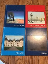 "TIME-LIFE BOOKS SERIES ""LIBRARY OF NATIONS"" - 4 VOLUMES-NEAR MINT-COLLECTIBLE"