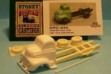 "SMC-650 1948-50 Ford CEO 134"" Cab & Frame  HO-1/87th Scale White Resin Kit"